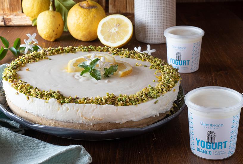 Cheesecake al limone con yogurt Giambrone | Fattoria Giambrone